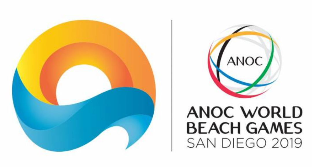ANOC World Beach Games 2019 Logo